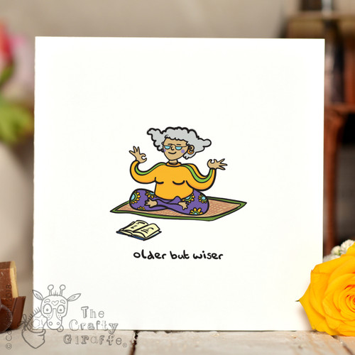 Older But Wiser (female) Card