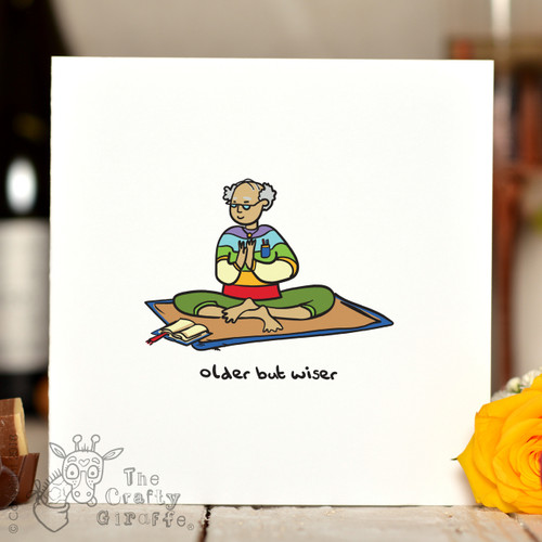 Older But Wiser (male) Card
