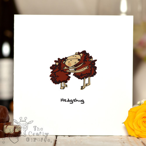 Hedgehug Card