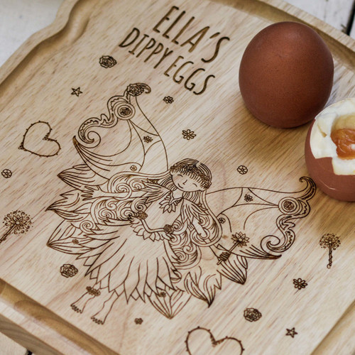 Personalised Breakfast Egg Board - Fairy