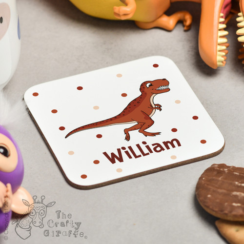 Personalised T-Rex Coaster