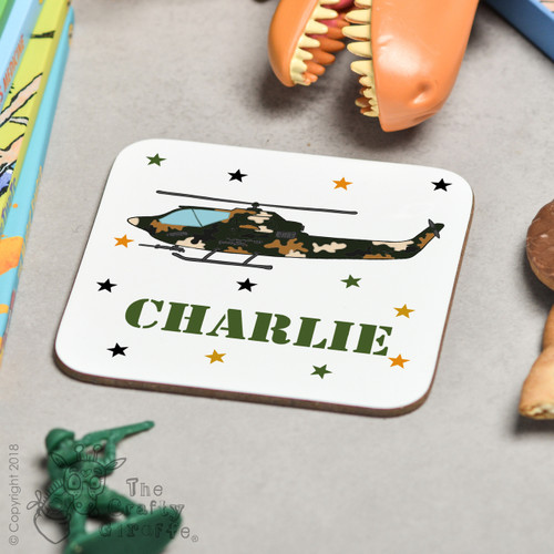 Personalised Attack Helicopter Coaster
