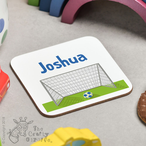 Personalised Football Coaster