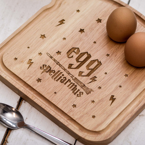 Breakfast Egg Board - Egg Spelliarmus