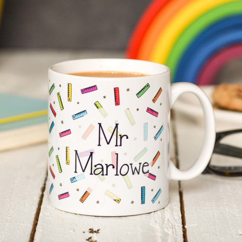 Personalised Ruler Mug