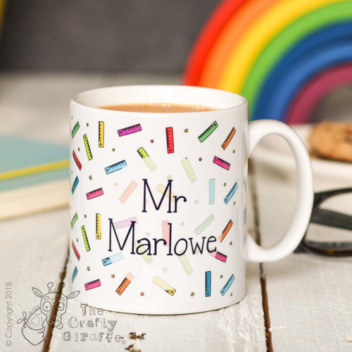 Personalised Ruler Mug
