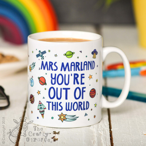 Personalised You're out of this world Mug