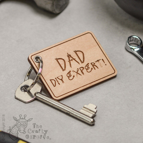 Personalised DIY Expert Keyring