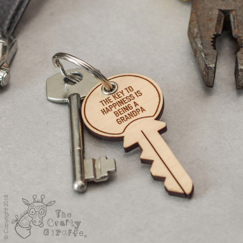 Personalised Key Keyring