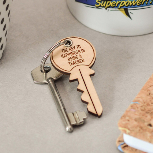 Personalised Key Teacher Keyring