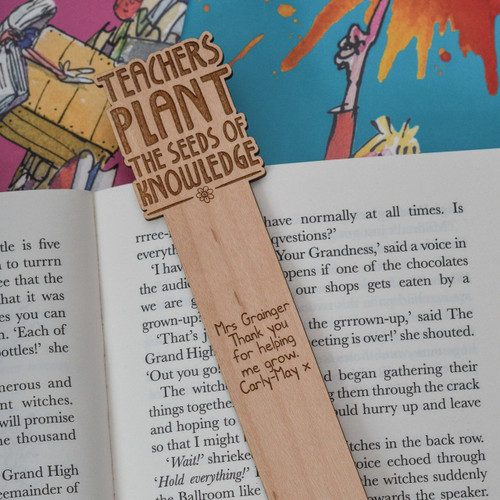 Personalised Teachers plant the seeds of knowledge Bookmark