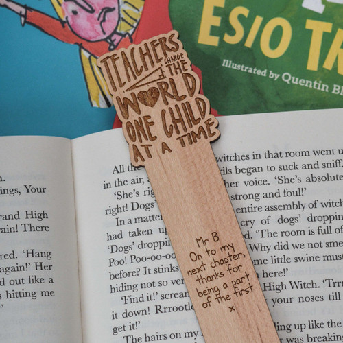 Personalised Teachers change the world one child at a time Bookmark