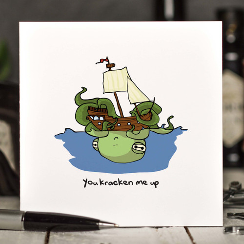 You kracken me up Card