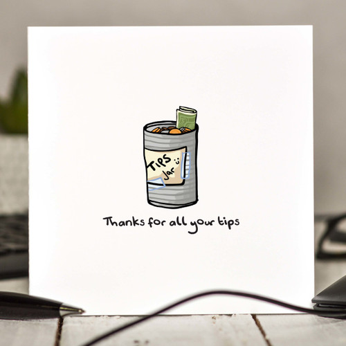 Thanks for all your tips Card