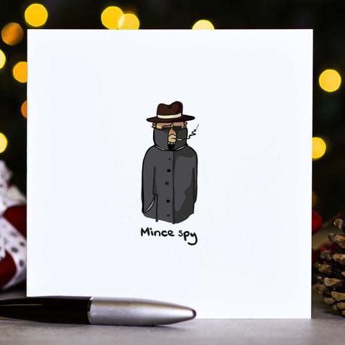 Mince spy - Christmas Card