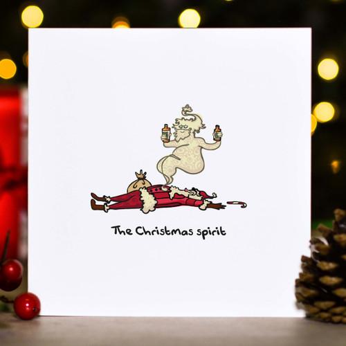 The Christmas Spirit Card