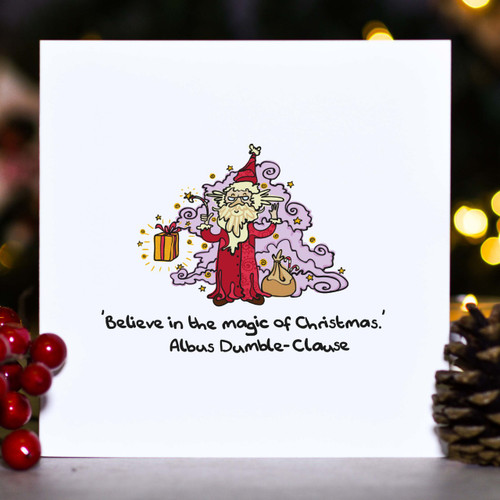 Believe in the magic of Christmas - Card