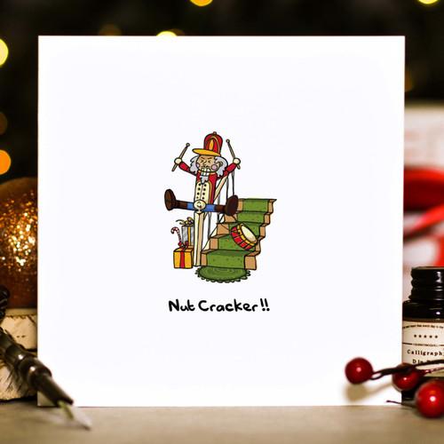Nut cracker Christmas Card