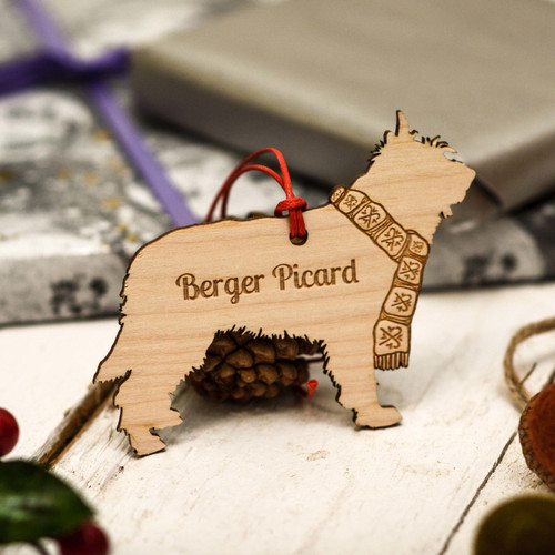 Personalised Berger Picard Decoration