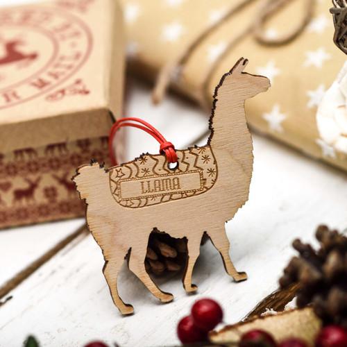 Personalised Llama Pet Decoration