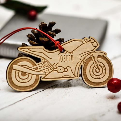 Personalised Motorbike Decoration