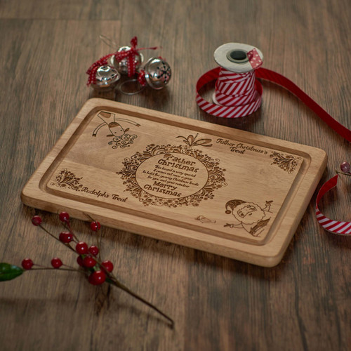 SECONDS - 'Father Christmas' - Santa Platter - Non Personalised