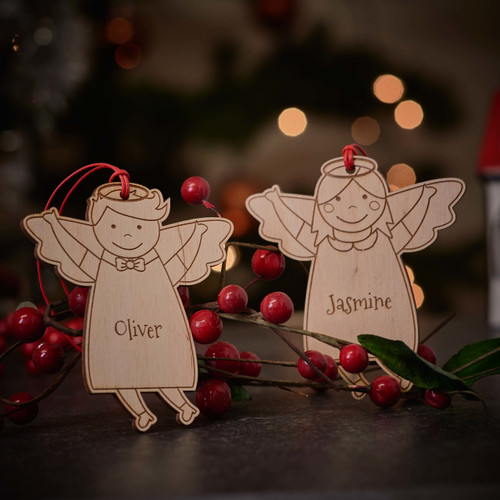 Personalised Angel Decoration