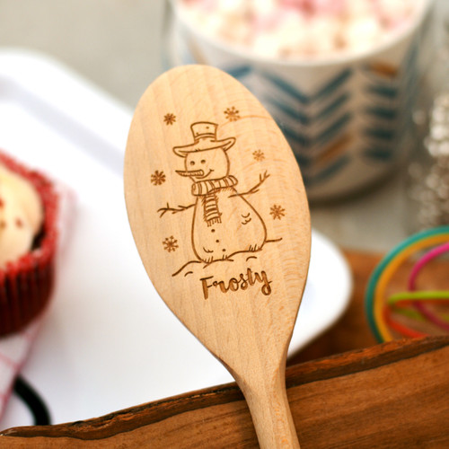 Personalised Snowman Spoon