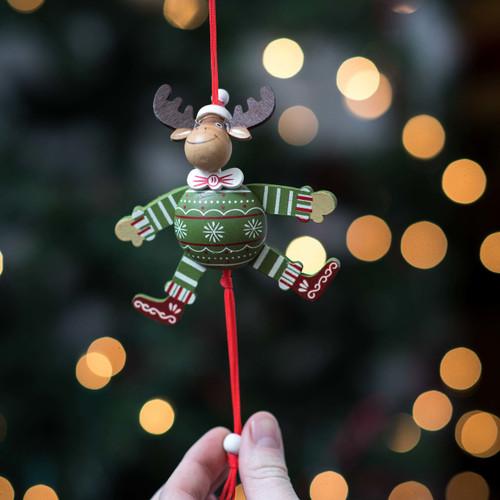Rustic Reindeer Jumping Jack