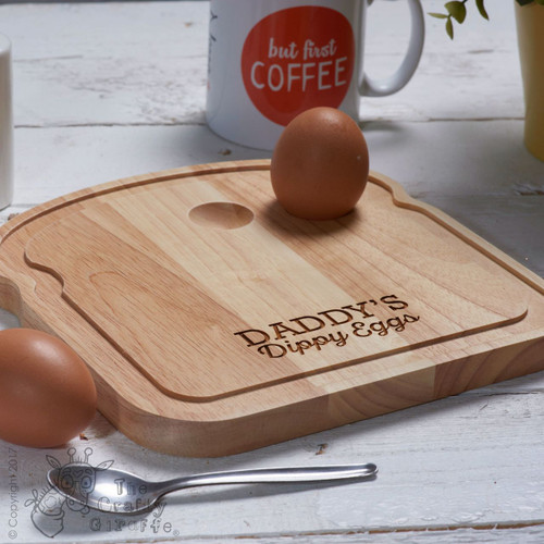 Personalised Breakfast Egg Board - Dippy Eggs