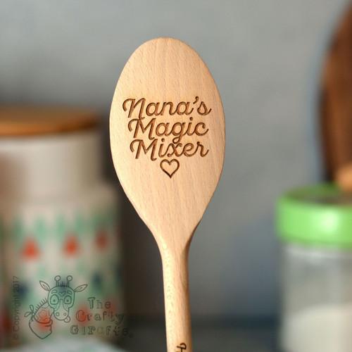 Personalised Magic Mixer Spoon