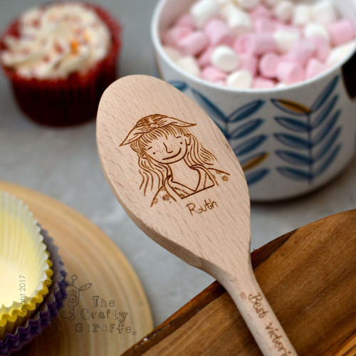 Personalised Character Spoon Face - Woman