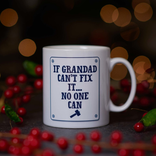 Personalised Mug -  Fix it.
