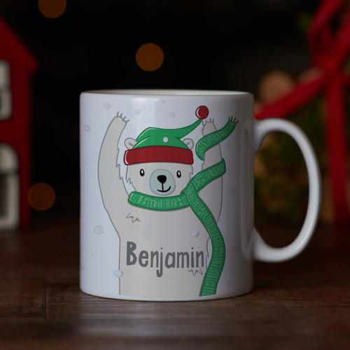 Personalised - Polar bear Mug