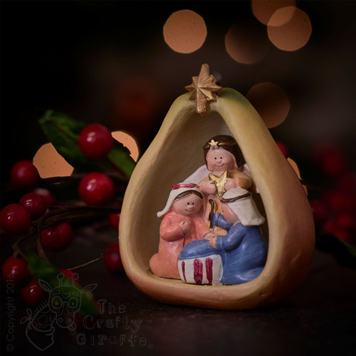 Nativity fruits mix - Pear