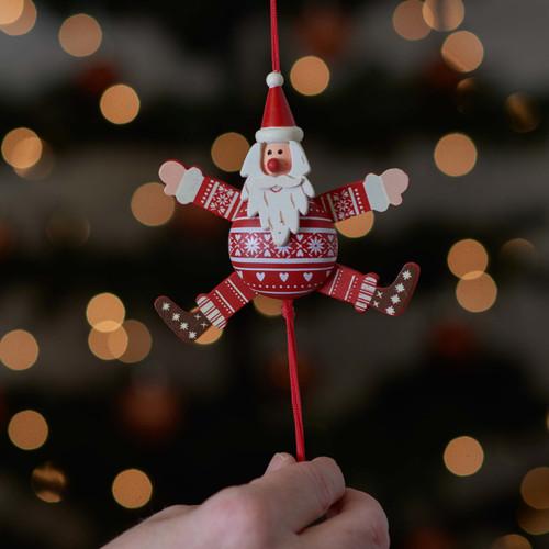 Festive Santa Jumping Jack
