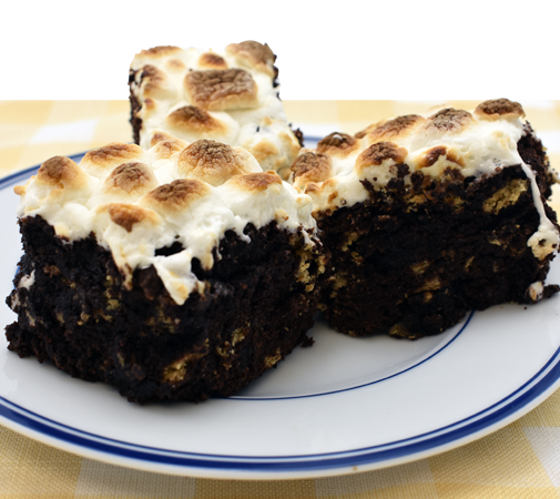 Gluten-Free S'mores Brownie Recipe