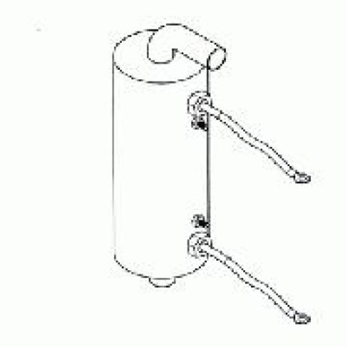 Caldera Spas Low Flow 4 0kw Tank Style Heater