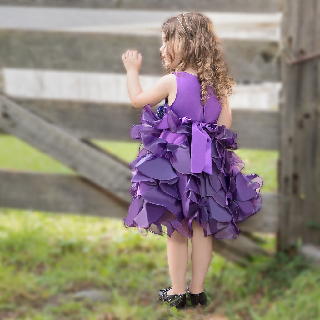 Camila Dress – Tyrian Purple