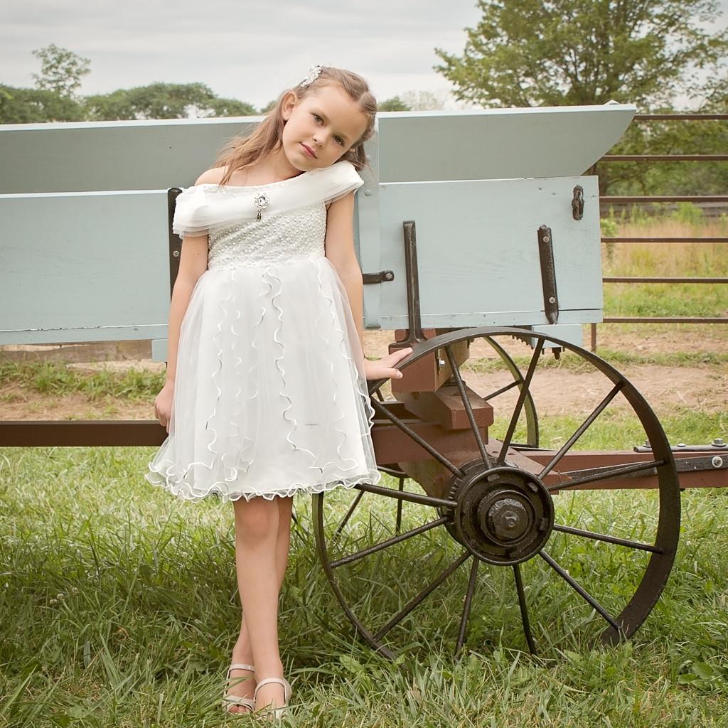 Elizabeth Dress – Dutch White