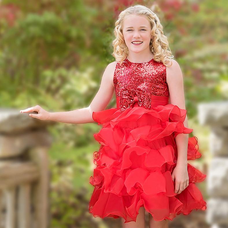 Camila Dress – Rossa Corsa