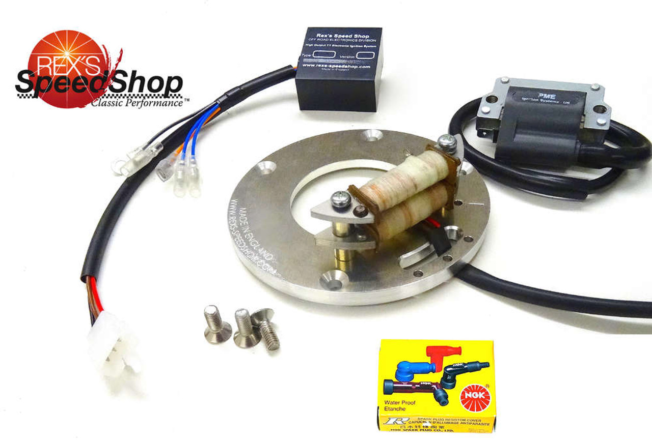 """TY250 Twin Shock """"Clubman"""" Electronic Ignition Kit"""
