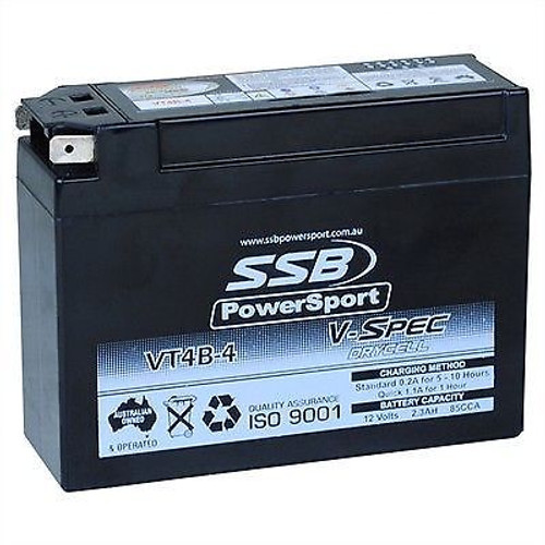 12V Battery High Performance AGM Dry Cell SR400 SR500 TT500 XT500