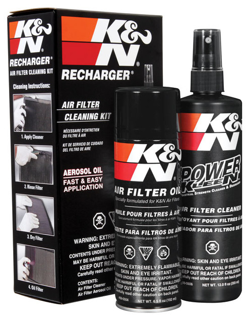 K&N Air Filter Cleaning/Recharge Kit
