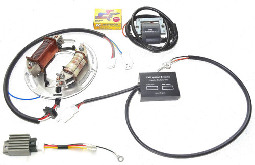 "Electronic Ignition  XT500 TT500 ""Full Power Competition"" (with 12 Volt Electrics)"