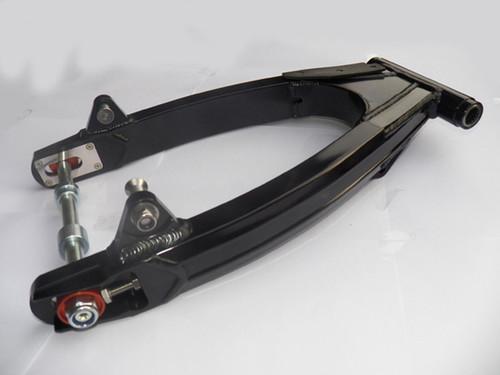 """Swing Arm SR400 SR500 6061 Alloy Type 2 """"SuperLite"""" Black"""
