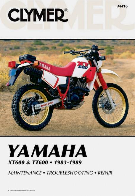 Workshop Manual Yamaha TT600 XT600 83-89 Clymer