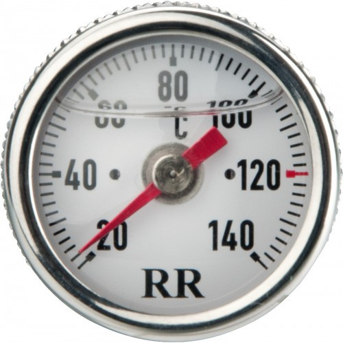 Oil Dipstick Thermometer RR23 with White Clockface and Centigrade Dial (20-140°C)
