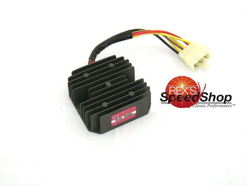 Regulator Rectifier 12V SR400 SR500 to '92, OEM # 2J2-81960-A0-00