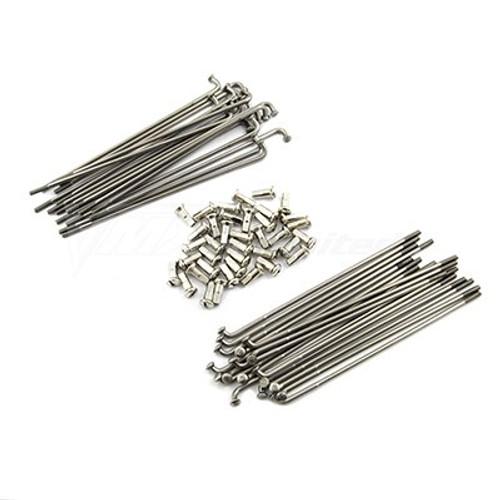 """Spoke Set Rear Stainless Steel 17"""" XT600E/K"""